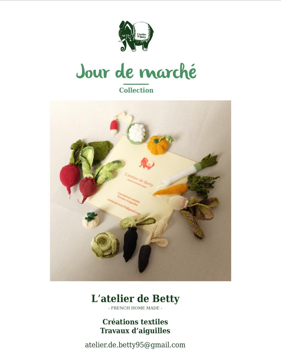 Jour de marché - atelier de Betty